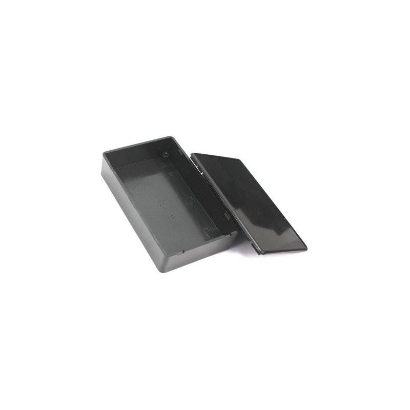 Protótipo de caixa de plástico ABS Preto 100x60x25 mm