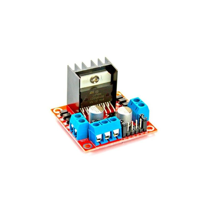 Controlador L298N DC PAP Controle do Motor (Passo a passo) Ponte Dupla H
