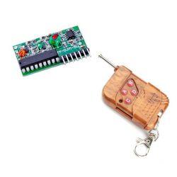 Controle remoto + Receptor...