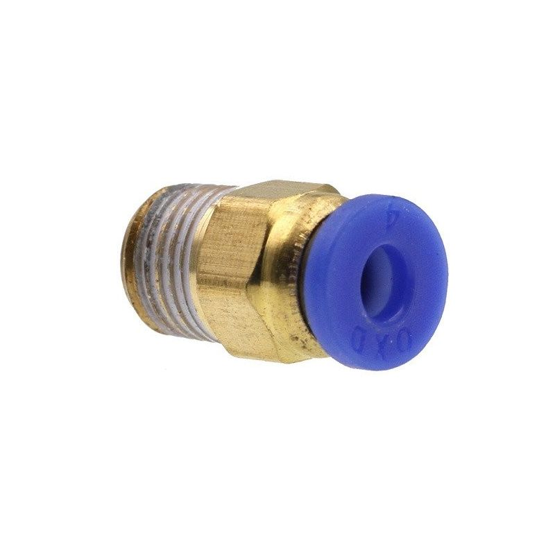 PC4-01 Pneumatic connector for PTFE tube quick coupler