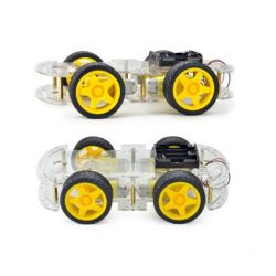 4WD Robot Smart Car Chassis...
