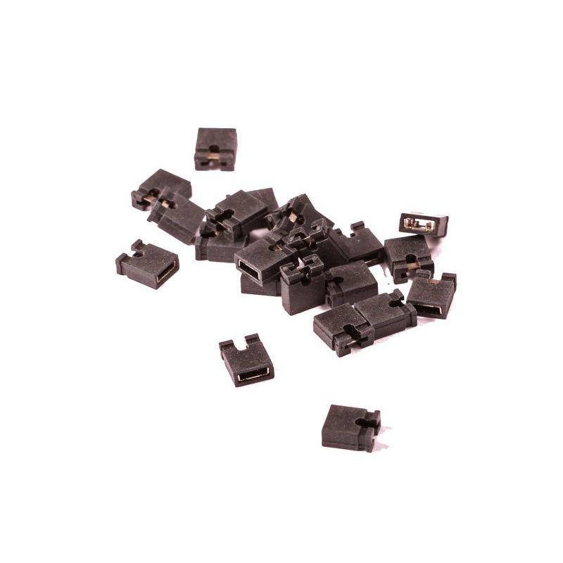 20 Mini Jumpers 2.54mm Short Circuit Board PCB