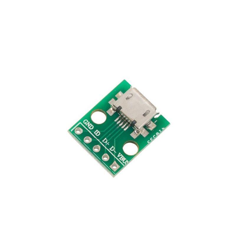 Micro Usb to DIP Adapter Mini Arduino Module Electronic Converter PCB