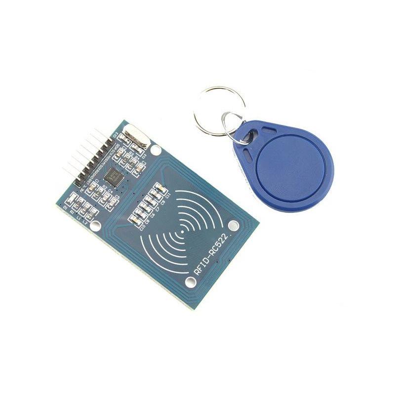 Módulo RFID RC522 + Tarjeta 13,56 Mhz Llavero Tag NFC RFID