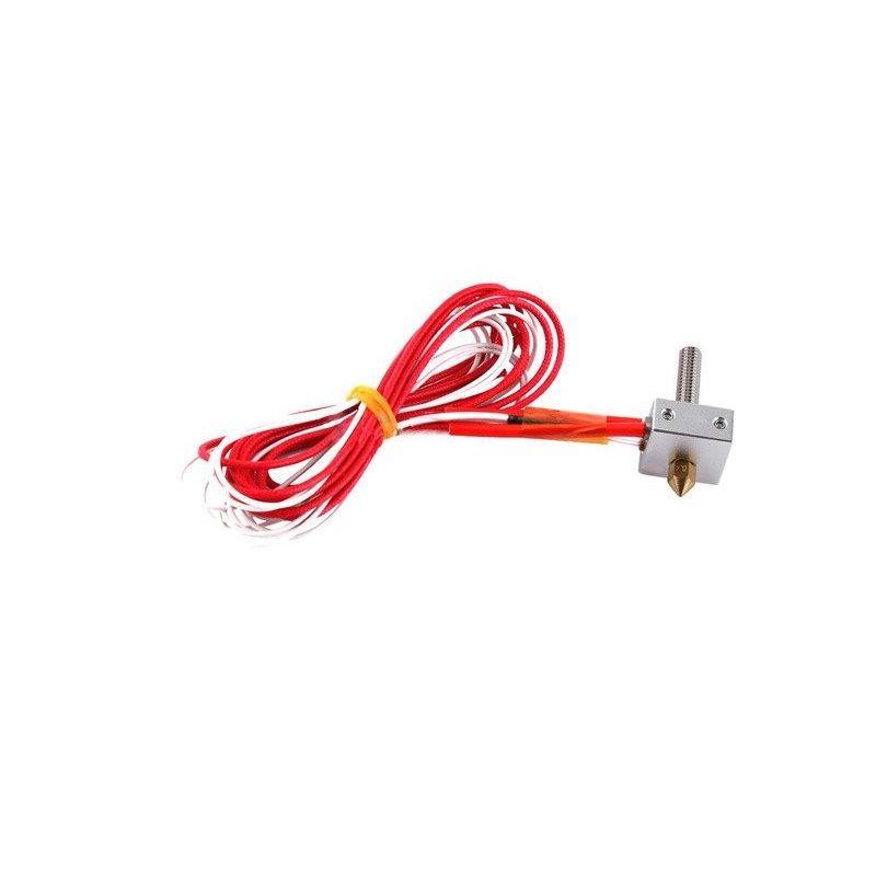 Heater Block MK8 NTC 3950 Nozzle 0.4mm 1.75mm