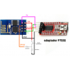 FT232 USB to TTL Serial Converter Adapter Module 5V 3.3V + Cable