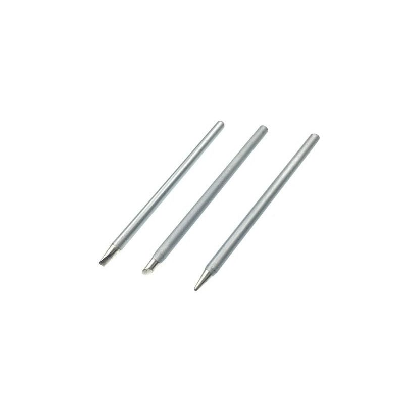 3x Long Life Soldering Iron Tips Replacement Ø 3.8mm