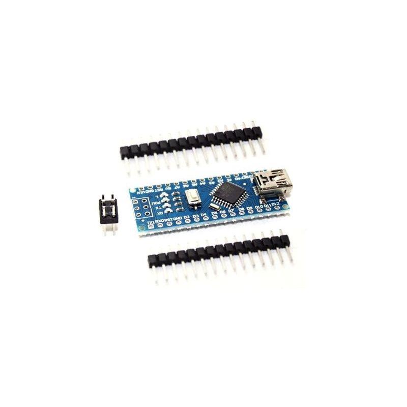 Placa Nano V3.0 CH340 + pinos compatíveis Arduino