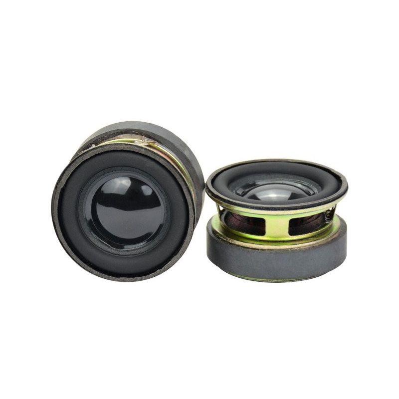 Mini Altavoz 40mm Diametro 3W Impedancia 4 Ohm MP3