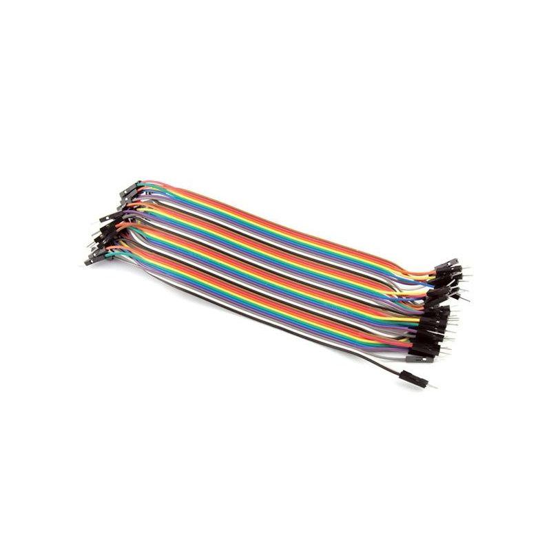 Cable 40 vías Hembra-Macho 20cm