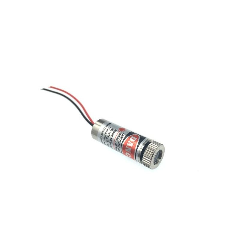 650nm 5mW Mira laser Módulo Foco Ajustável 5V