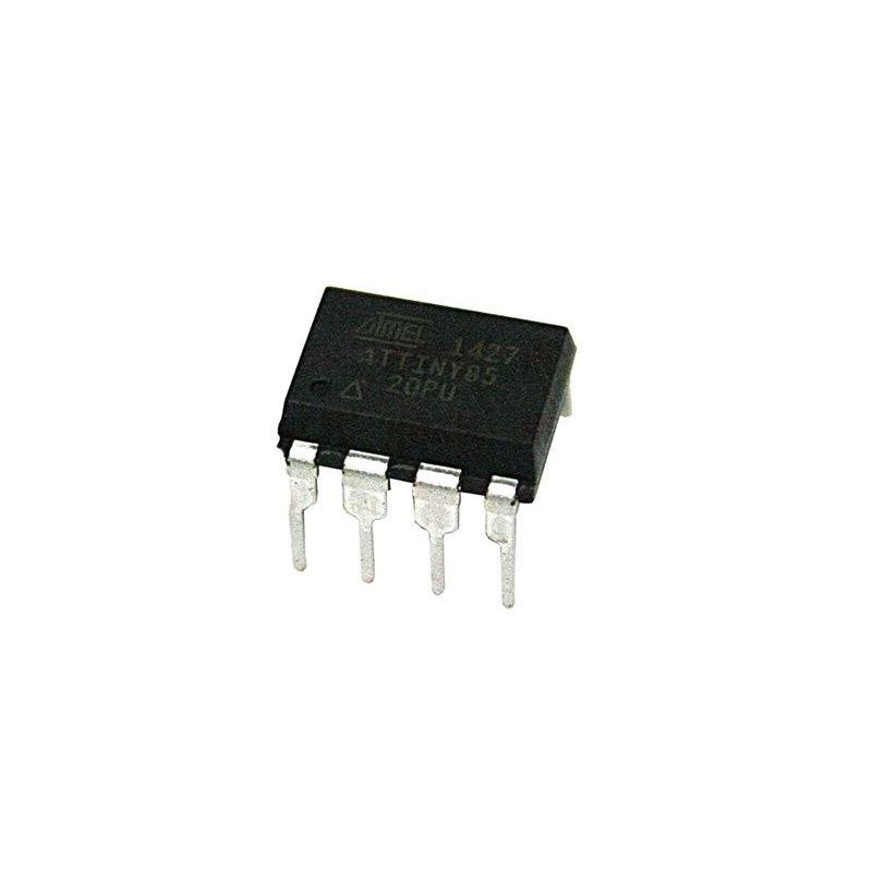 Microcontrolador ATtiny85-20PU Tiny85 20-PU DIP-8 Atmel Original