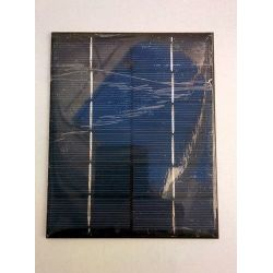 Painel solar DIY 6V 2W
