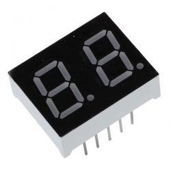 2 dígitos LED Display 7...