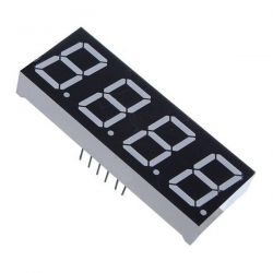 LED Display 4-Digit 7-Segment Red Common Cathode