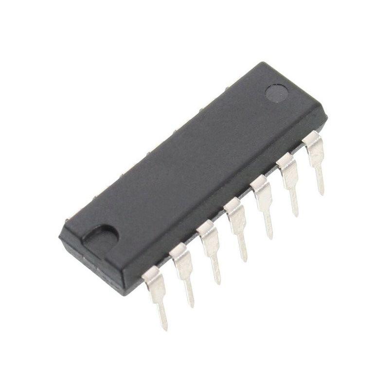 CD4011BE DIP14 Cuádruple Entrada Puertas Lógicas CMOS NAND Texas Instrument