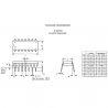 CD40106BE DIP14 CMOS Hex Schmitt Triggers Inversor Texas Instrument