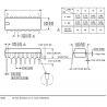 SN74LS47N DIP16 Descodificador BCD 7 Segmentos Circuito Integrado