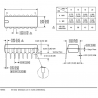 HCF4017BE DIP16 Contadores/Divisores ST MicroComponentes y sensores Circuito Integrado