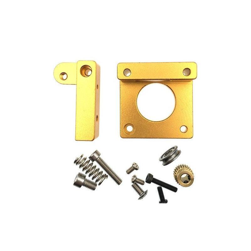 Extruder Kit MK8 Filamento de Alumínio 1.75mm Impressora 3D Reprap Prusa