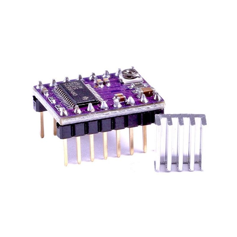 DRV8825 + Radiator Stepstick Stepper Driver Motor Pololu 3D Printer