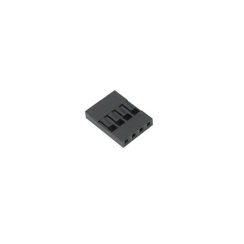 Connectors 15x BLS04 Female / Female 4 Pins RoHS Single Row