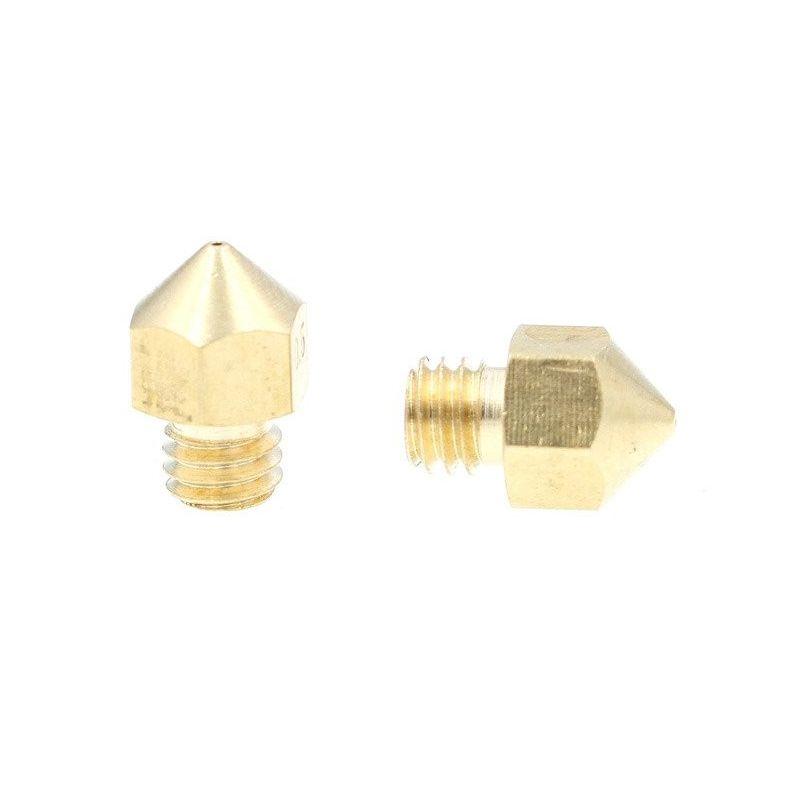 Nozzle Head 1.75 0.3 MK8 3D Printer Extruder