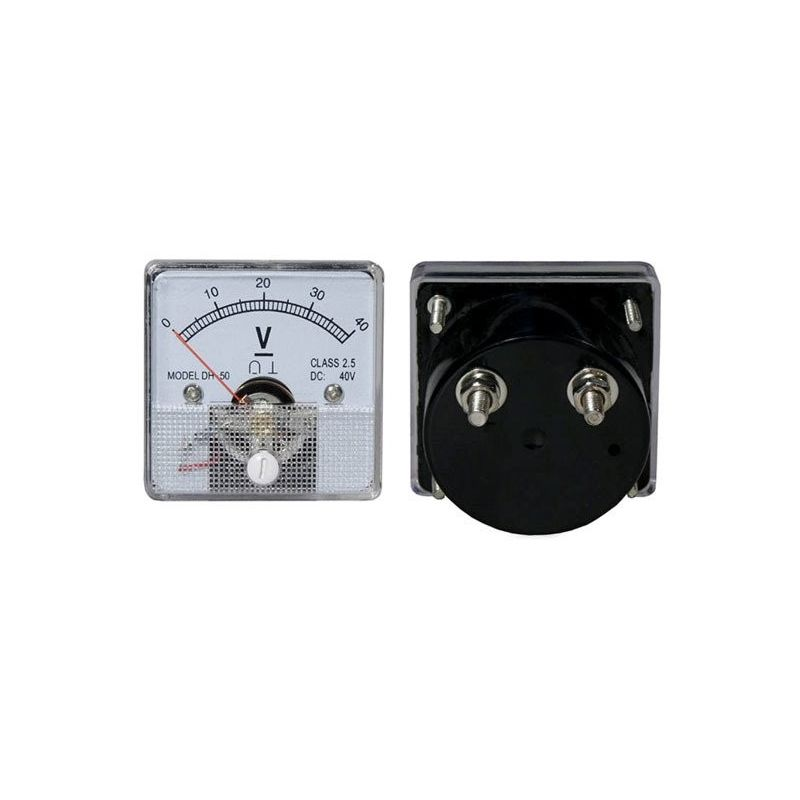 DC 40V Analog Panel Voltmeter 0 to 40V