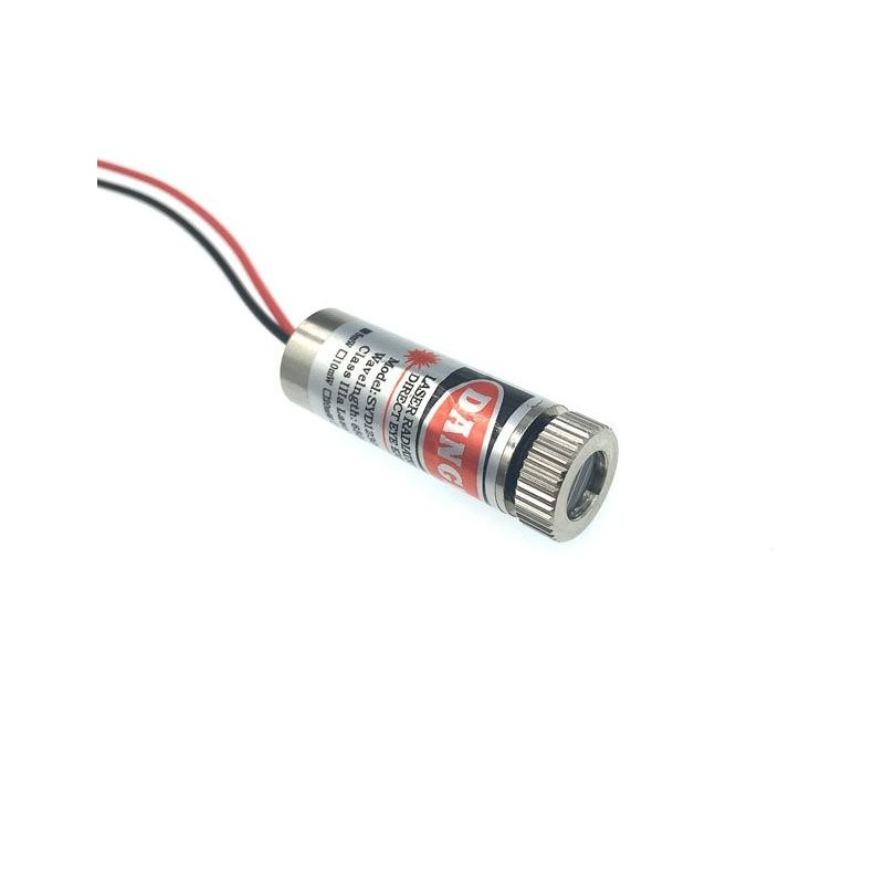 650nm 20mW Rojo Linea  Láser Módulo ajustable