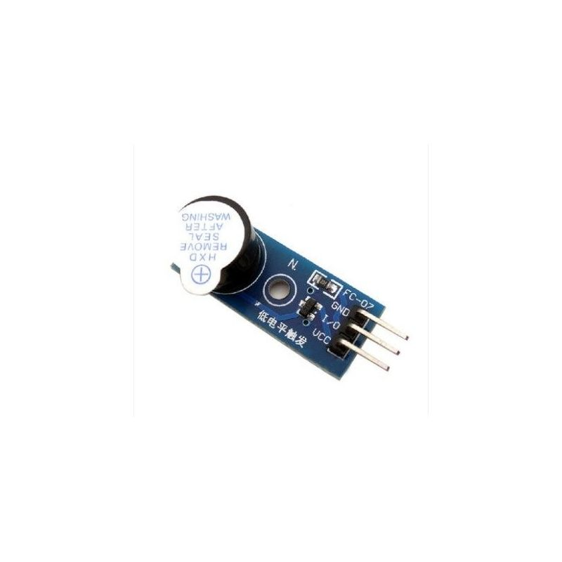 Passive Buzzer PCB Long Blue