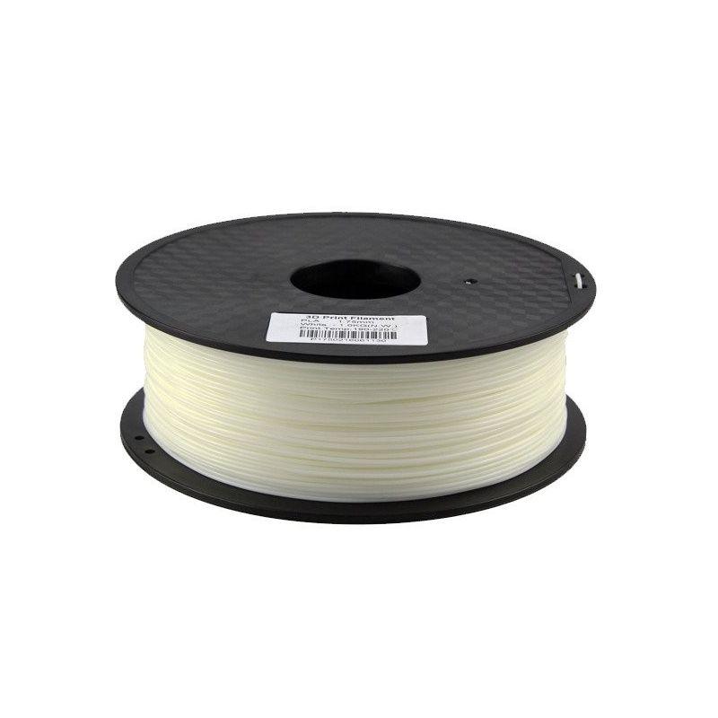 Filamento de Nylon Branco 1.75mm 1kg