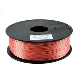 Red Silk Filament 1.75mm 1kg