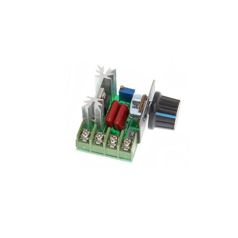 Regulador de velocidade para motor AC 50-220VAC 2000W 10A