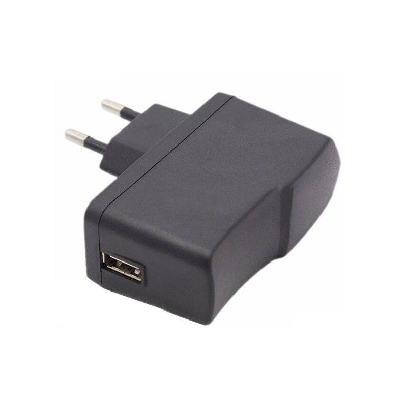 Power Adapter 220VAC DC 5V 2.5A EU Plug USB A Connector
