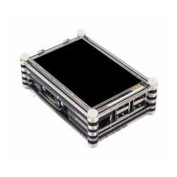 Caixa de acrílico LCD TFT...