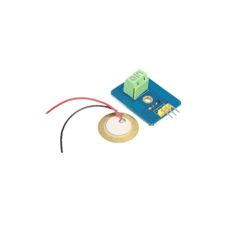 Sensor Piezoeléctrico de Vibración para Arduino UNO Rev3
