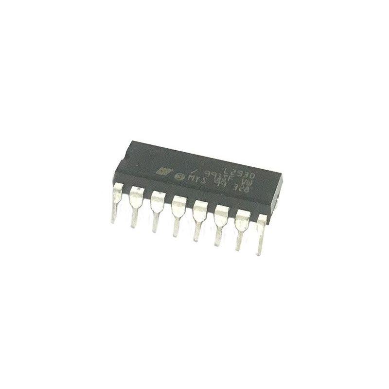Controlador motor L293D PAP (passo a passo) Corrente contínua 0.6A