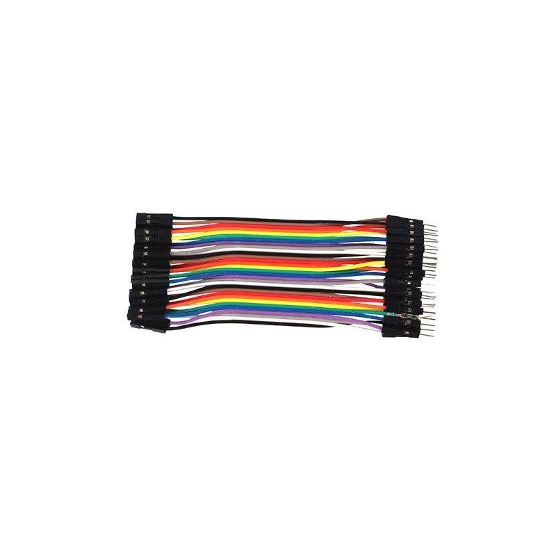 Cable 40 vías Hembra-Macho 10cm