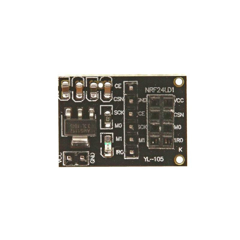 Adaptador sem fio NRF24L01+ 2.4GHz