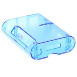 Carcaça transparente azul...