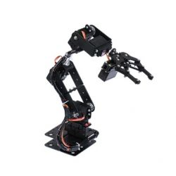 Aluminium Robot 6 DOF Arm without servo