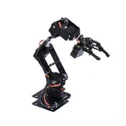 Robot de aluminio 6 DOF Brazo sin servos