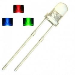 10x Multicolor LED 5mm 7...