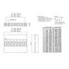 Conectores BLS01 Hembra/Hembra 1 Pin RoHS Fila Simple