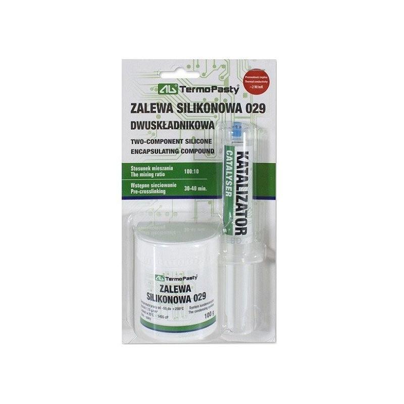 Encapsulante compuesto de silicona de dos componentes 029