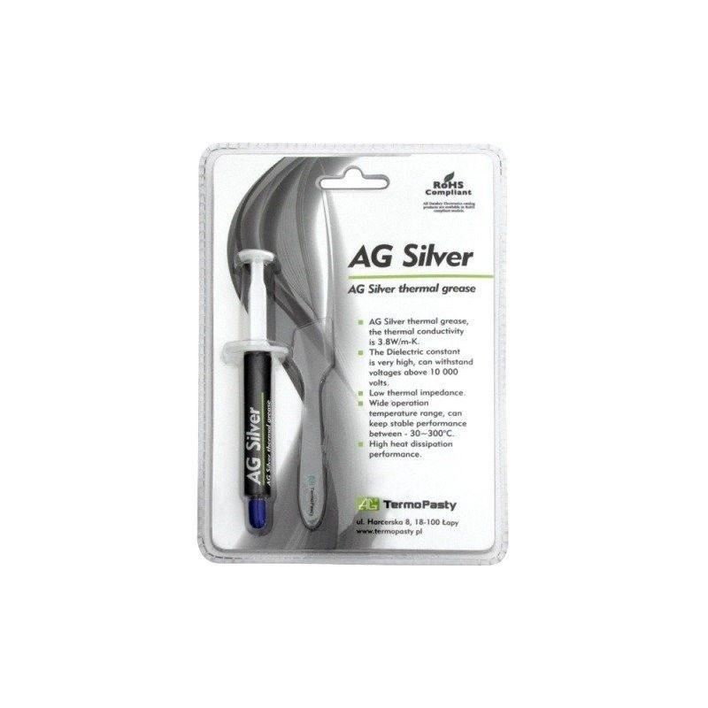Grasa térmica AG Silver jeringa 3g