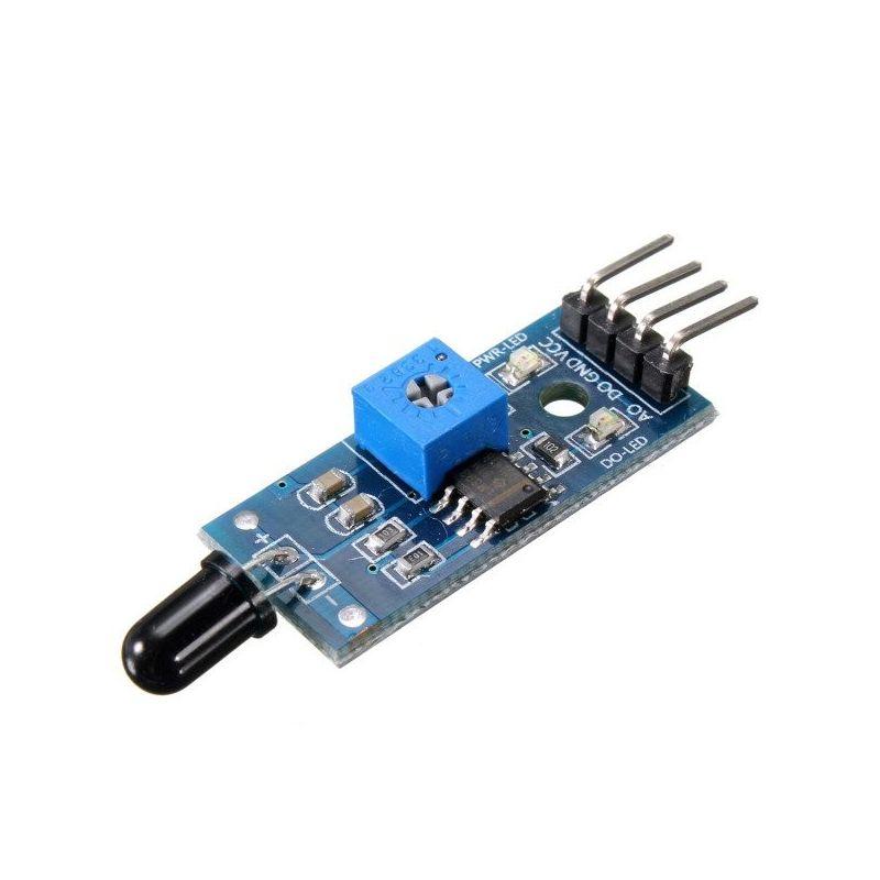 Módulo sensor De Llama LED Infrarrojo  5mm