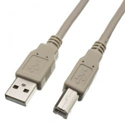 USB cable Type A-B 180cm grey