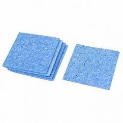 Esponja de limpeza azul...
