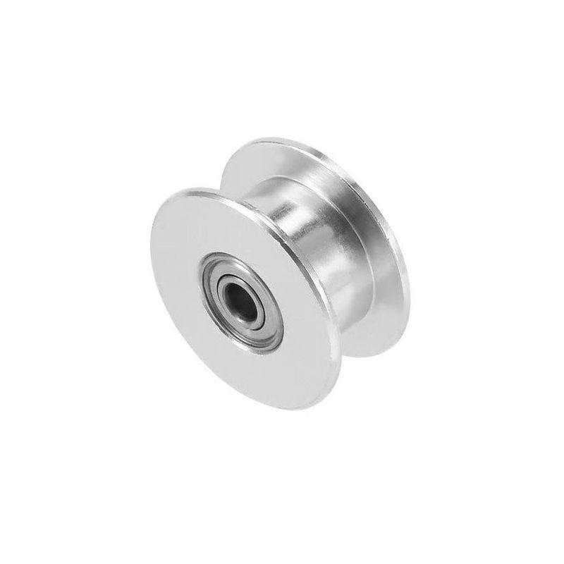 Polea Lisa GT2 6mm Aluminio  Pulley Diámetro interior 3mm